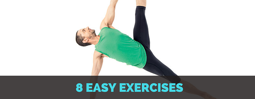 8 easy exercises Inspiro Exercise physiologist