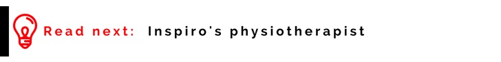 Inspiro's physiotherapist