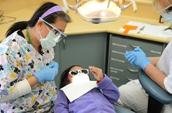 Inspiro dentists specialise in working with young children