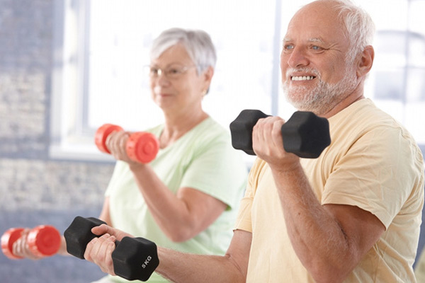 Strength training is beneficial for many older adults