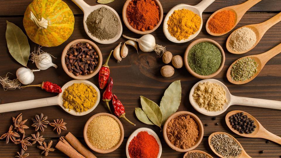 Spices for tomato and vegetable soup