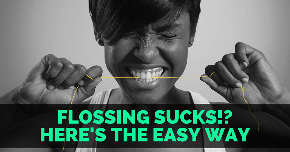 flossing sucks lean the easy way to floss