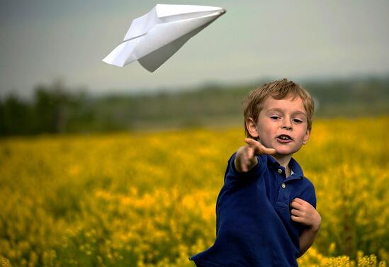 Make and fly some paper aeroplanes