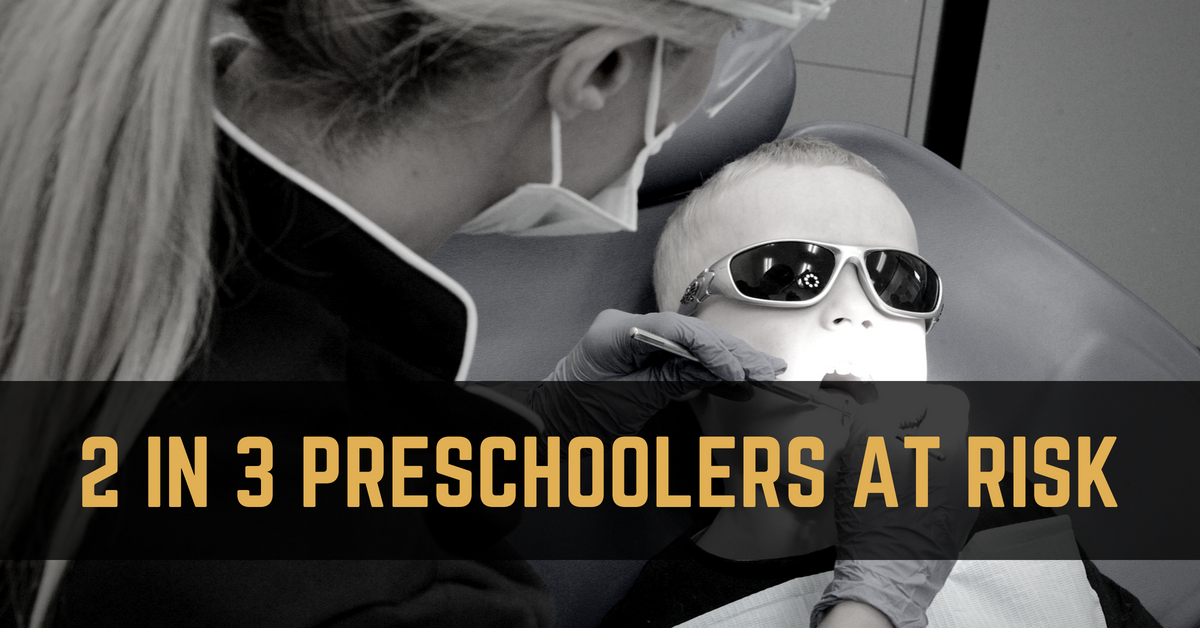 69% of preschoolers at risk - Don't wait until it's too late