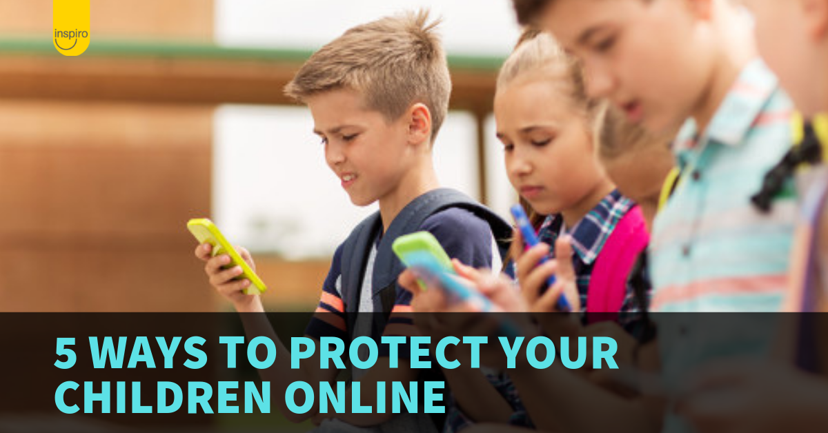 5 ways to protect your children online
