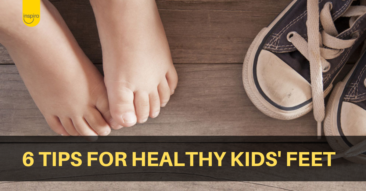 6 tips for healthy kids' feet