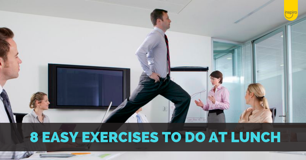 8 easy exercises and stretches to do on your lunch break