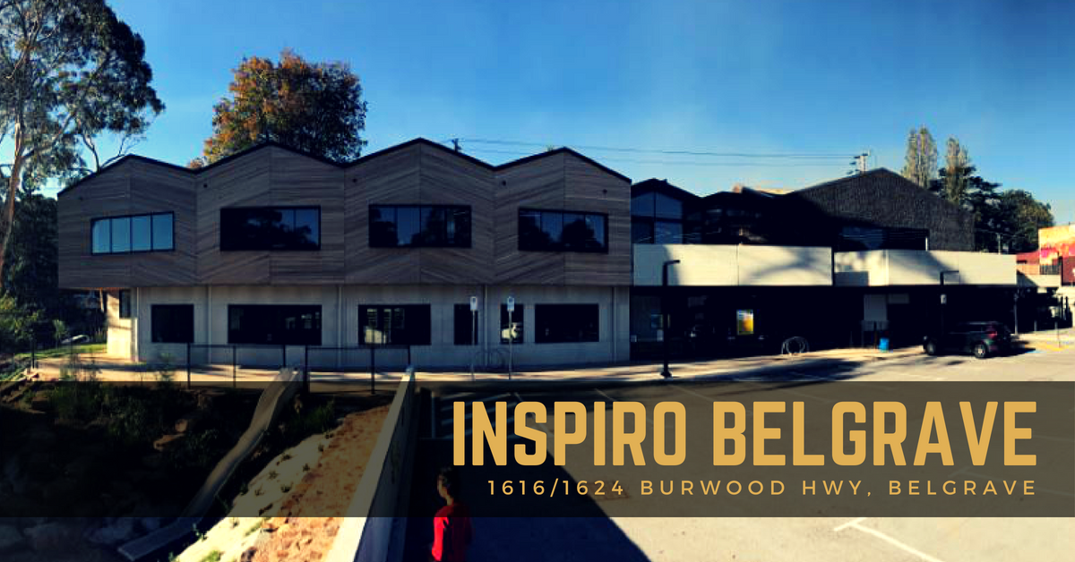 Services available at the Inspiro Belgrave Hub