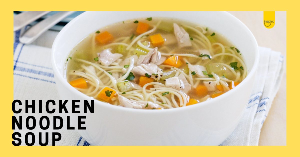 Dom's chicken noodle soup recipe