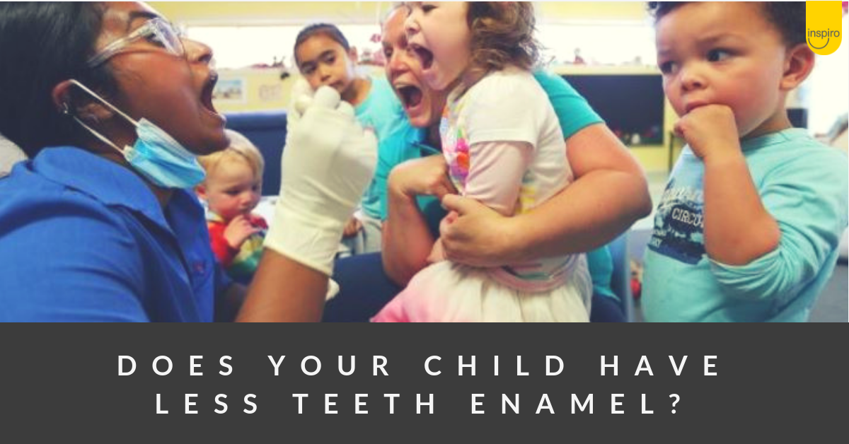 How to protect children's teeth with enamel problems