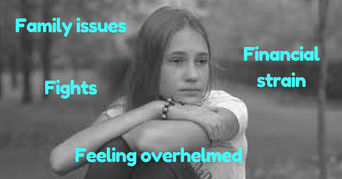 The 'F' Word... Family issues. Financial strain. Fights. And feeling freaking overwhelmed