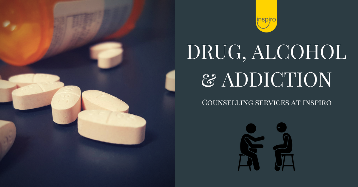 Drug, alcohol and addiction counselling services at Inspiro