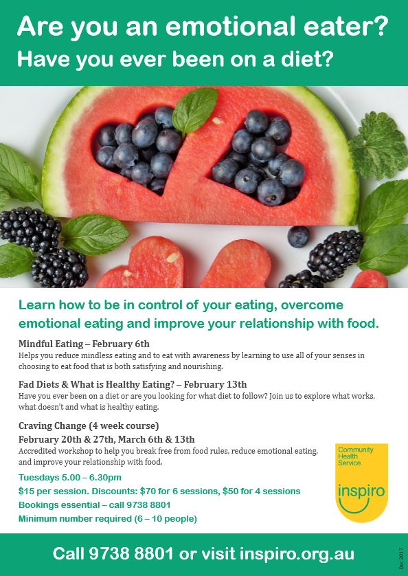 Overcome emotional eating and feel better about your food choices