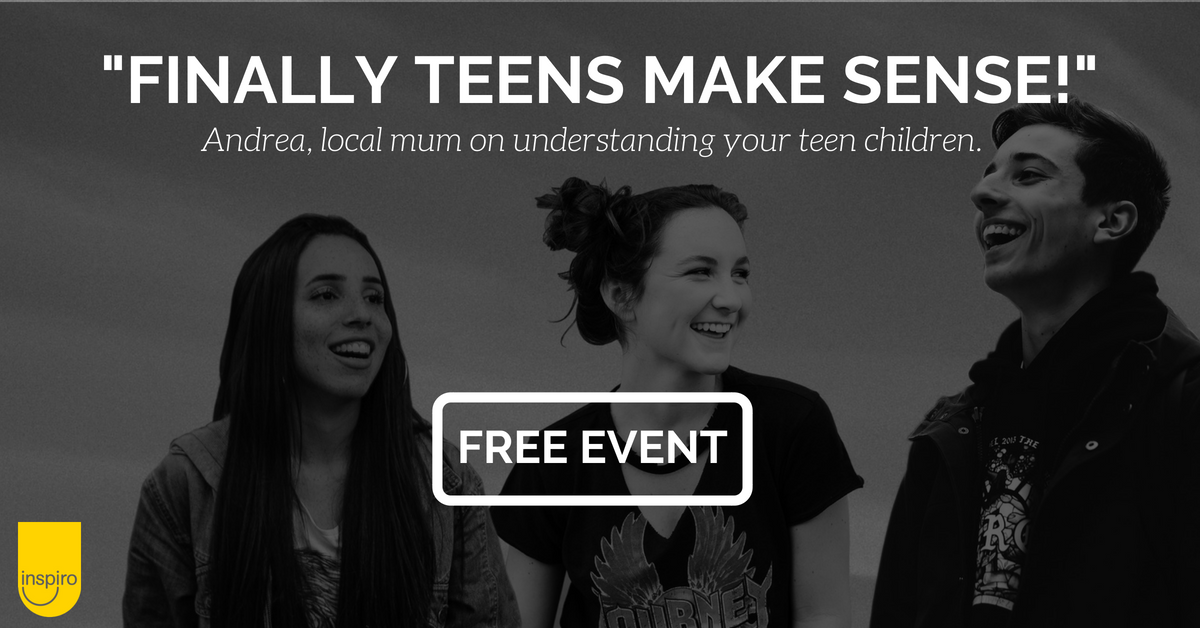 """Finally it makes sense!"" Understand your teens - free event for parents"