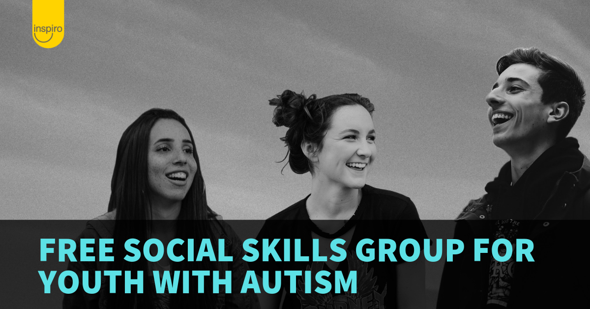 Free social skills group for youth with autism
