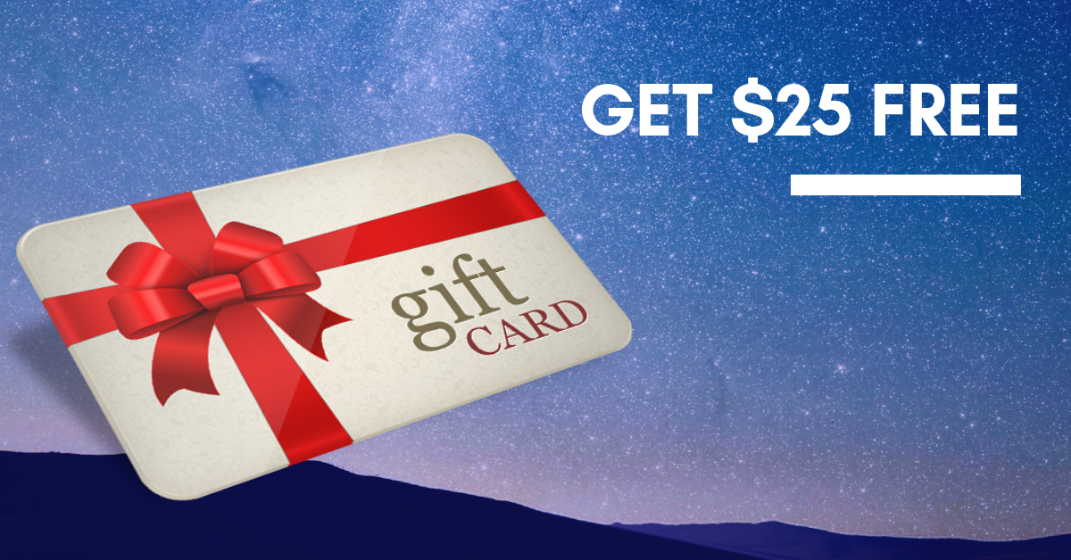 Get a $25 gift voucher for your feedback