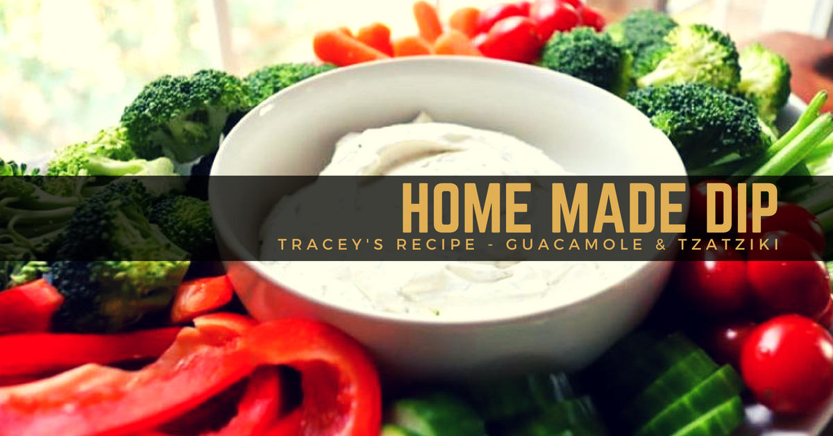 How to make delicious and healthy homemade dips