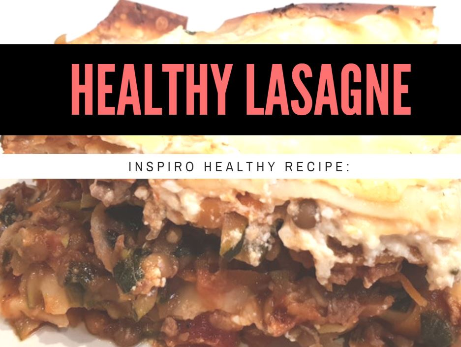 Dietitian approved healthy and delicious lasagne