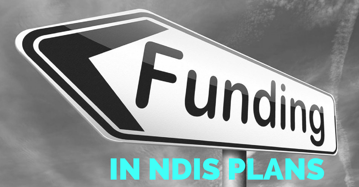 How is the funding in NDIS plans managed?