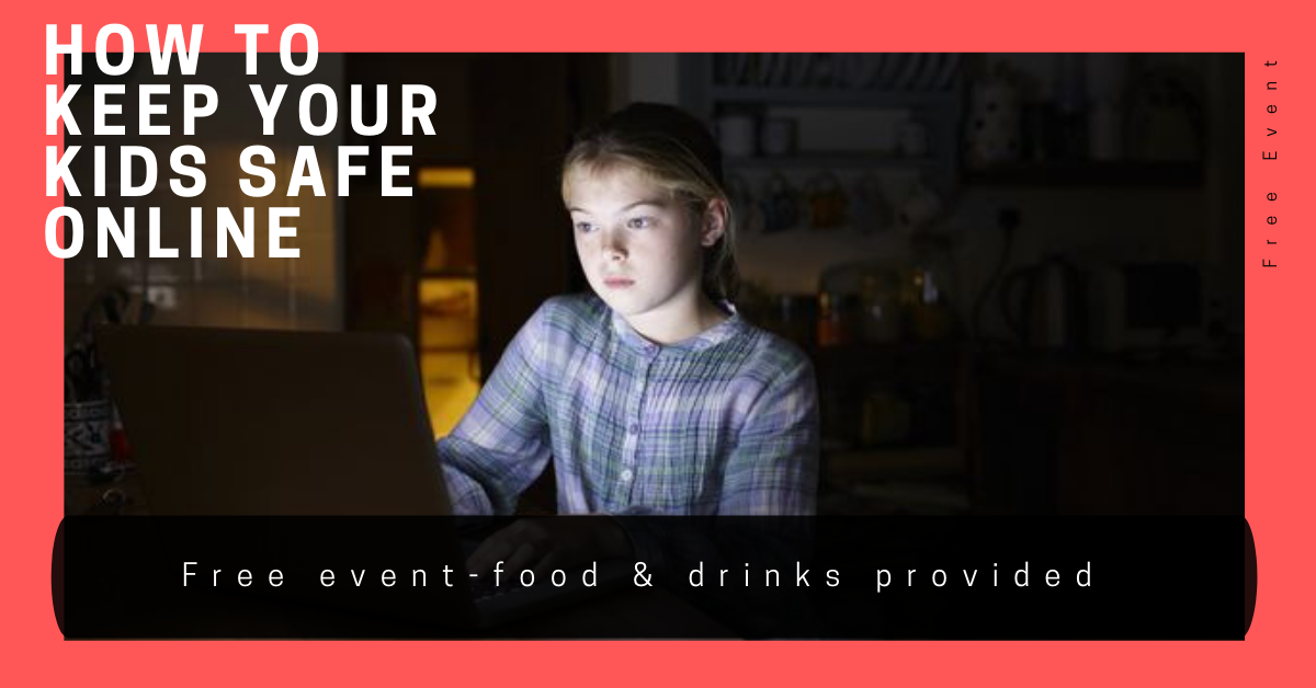 How to keep your children safe online - free event