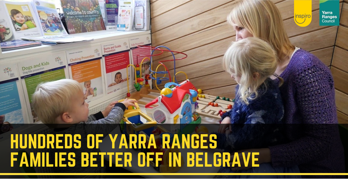 Hundreds of Yarra Ranges families better off in Belgrave