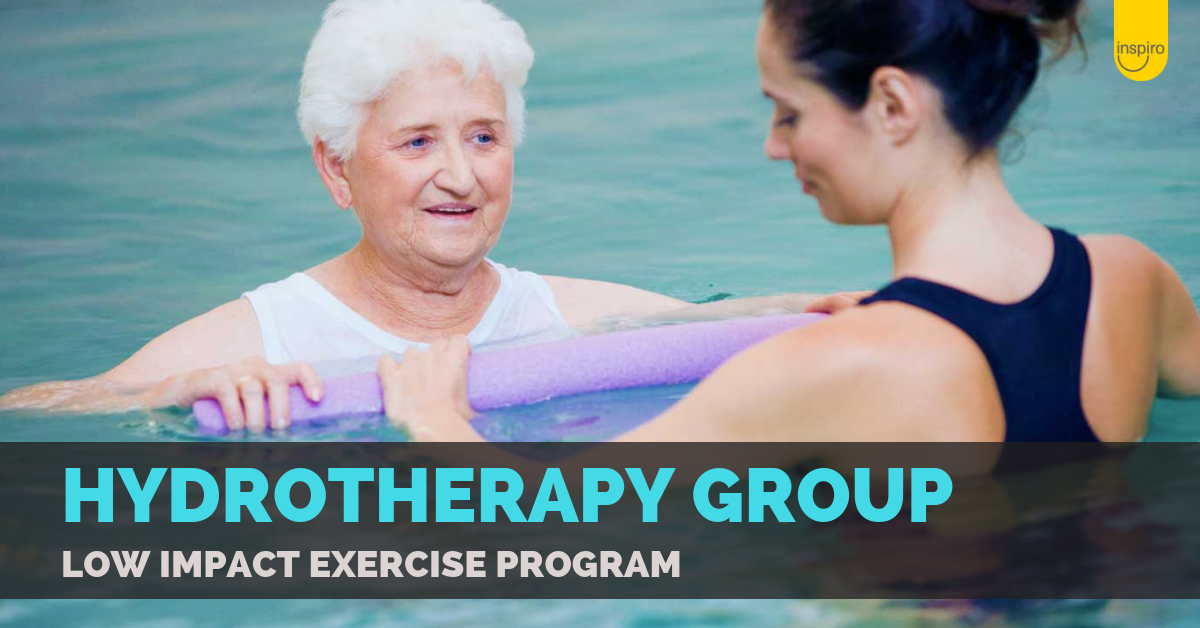 Hydrotherapy Group: low impact exercise program