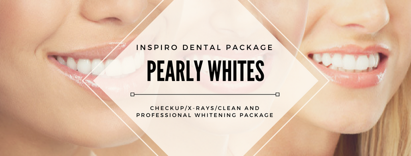 Teeth whitening and clean package - ends June 30