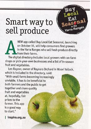 Smart way to sell produce