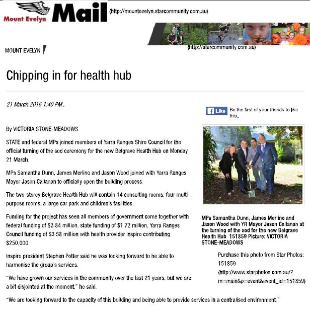 Chipping in for the health hub