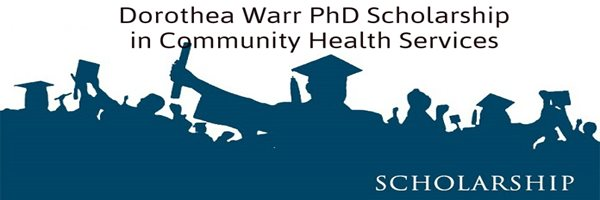 Dorothea Warr Industry PhD Scholarship in Community Health Services