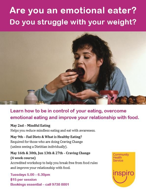 Learn how to control emotional eating