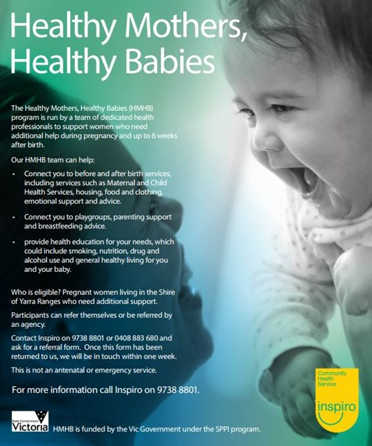 Support for pregnant women and women with young children