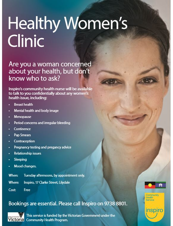 Healthy women's clinic for women's health issues