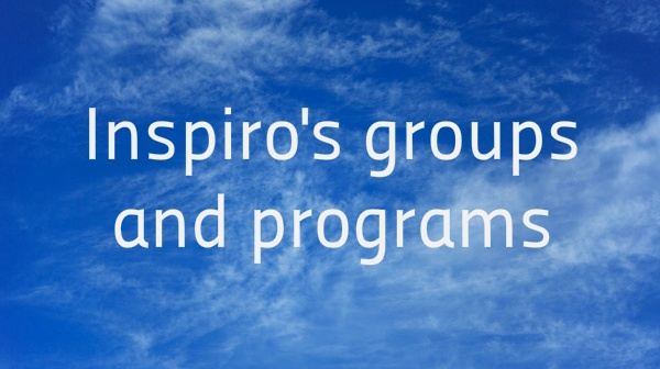 Inspiro's groups and programs cater for children, adults and the elderly