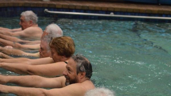 Water exercise classes for joint problems, arthritis, back pain, flexibility and strength