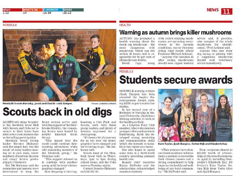 Students Secure Awards