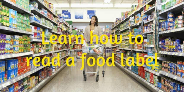 supermarket shop smarter read a food label