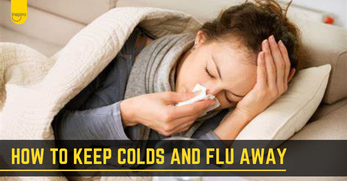 How to keep colds and flu away