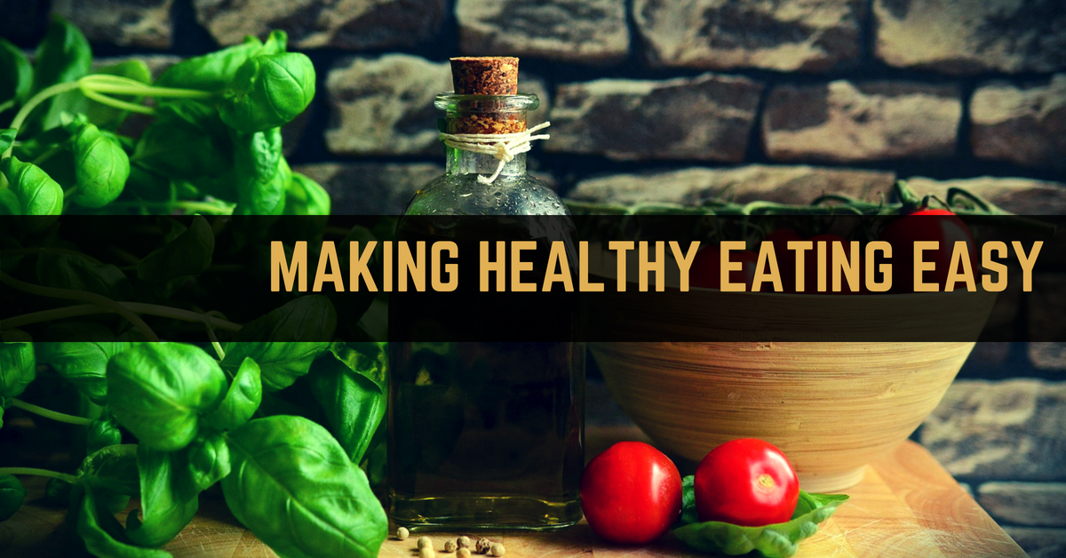Simple changes to make healthy eating easy