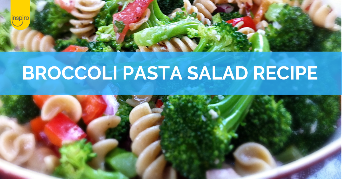 Risoni & broccoli pasta salad recipe