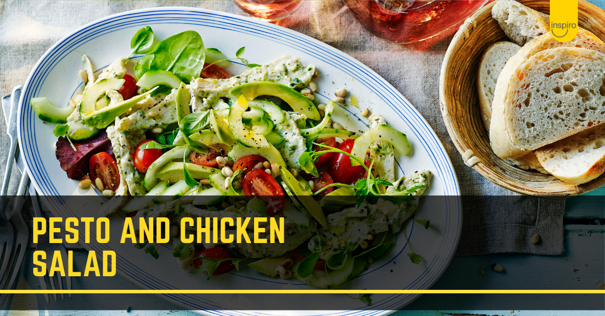 Pesto & Chicken Salad recipe