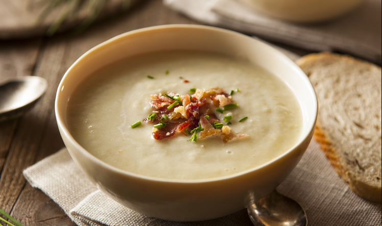 Dom's Leek and potato soup recipe