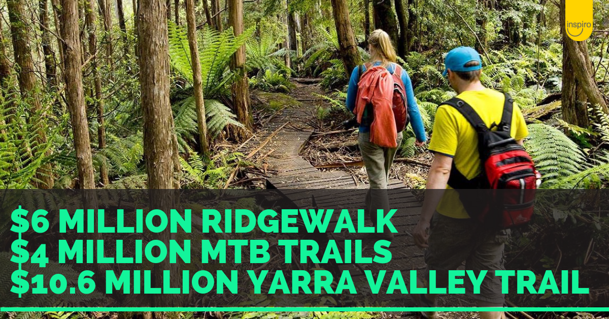 4 Yarra Ranges recreational projects set to cost $21.65 million dollars