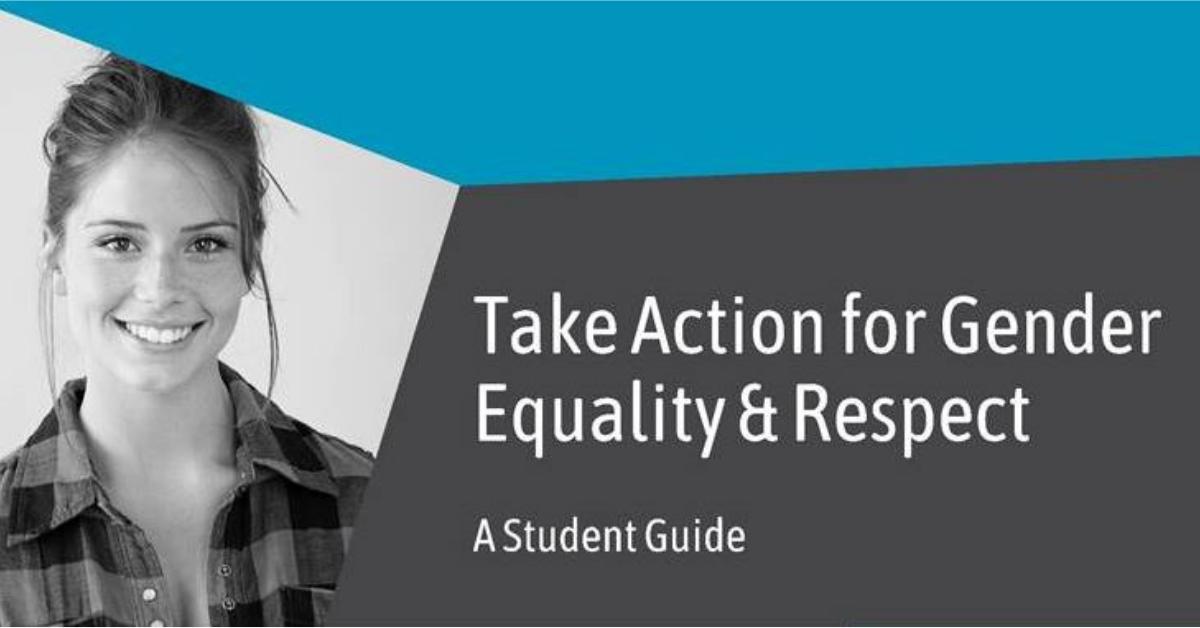 Gender equality & respect: student guide now available