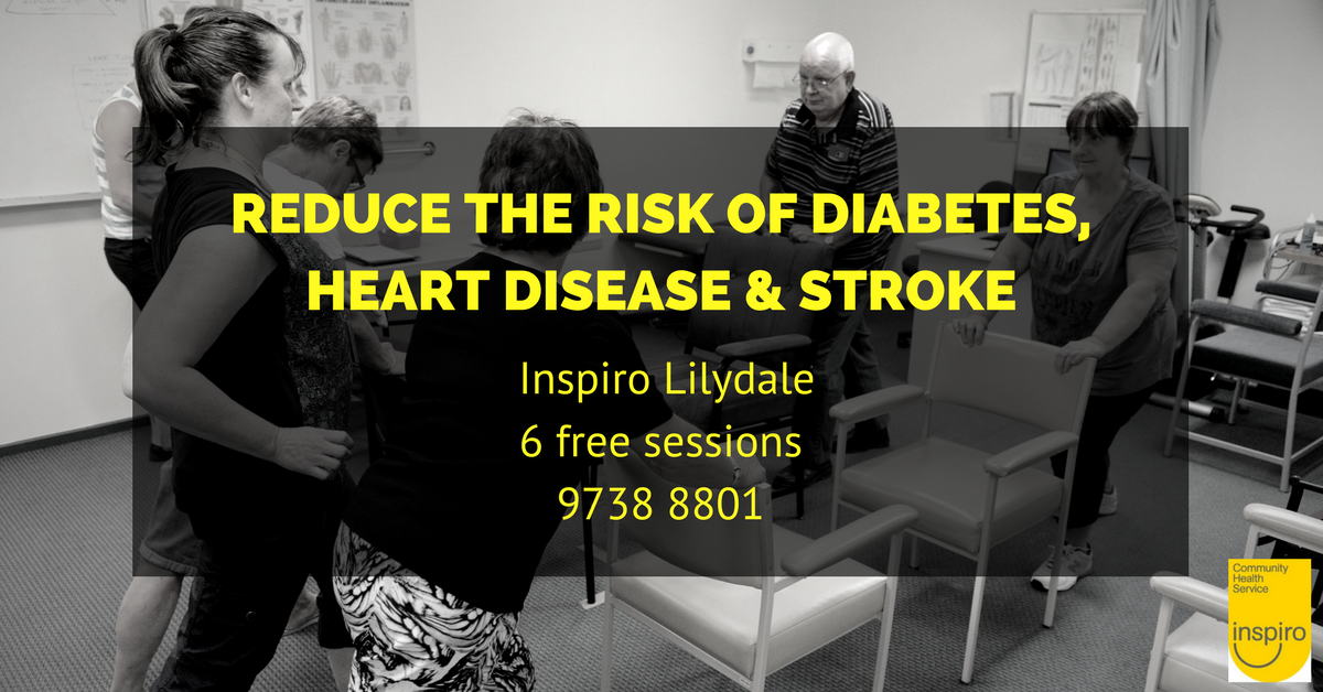 Reduce your risk of diabetes, heart disease and stroke