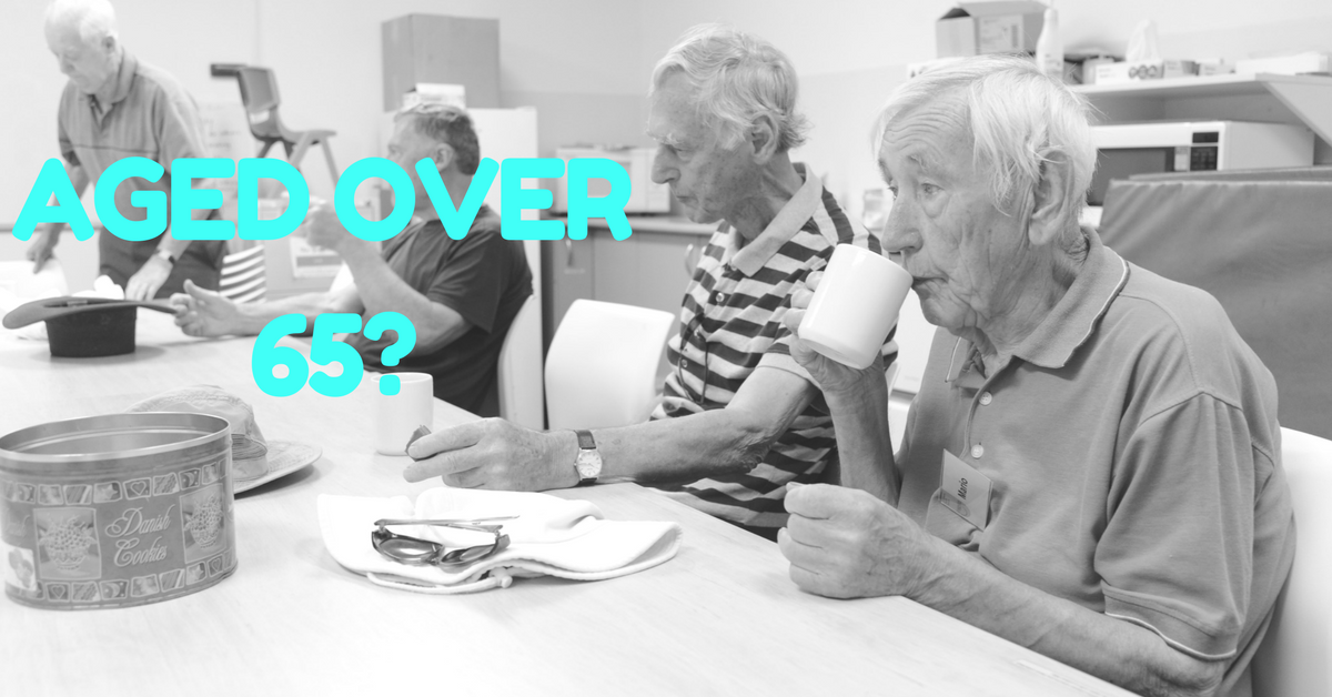 Are people aged over 65 eligible for the NDIS?