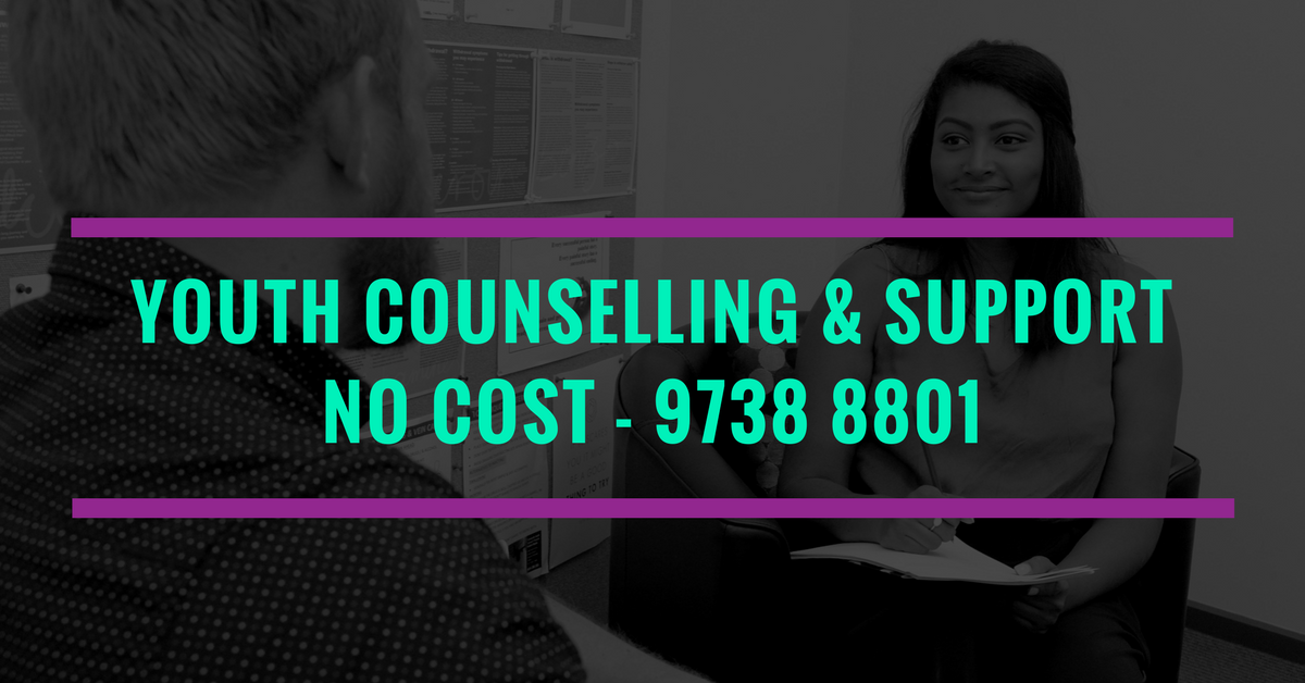 Free youth and young adult counselling and support