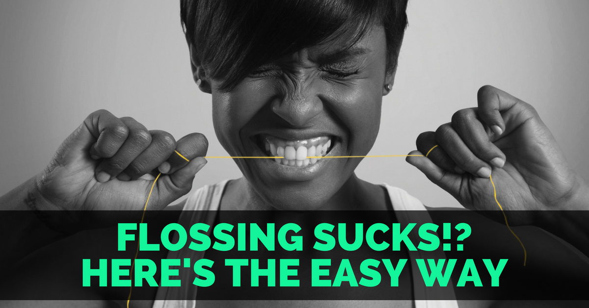 Are you doing it wrong? Here's the better and easier way to floss