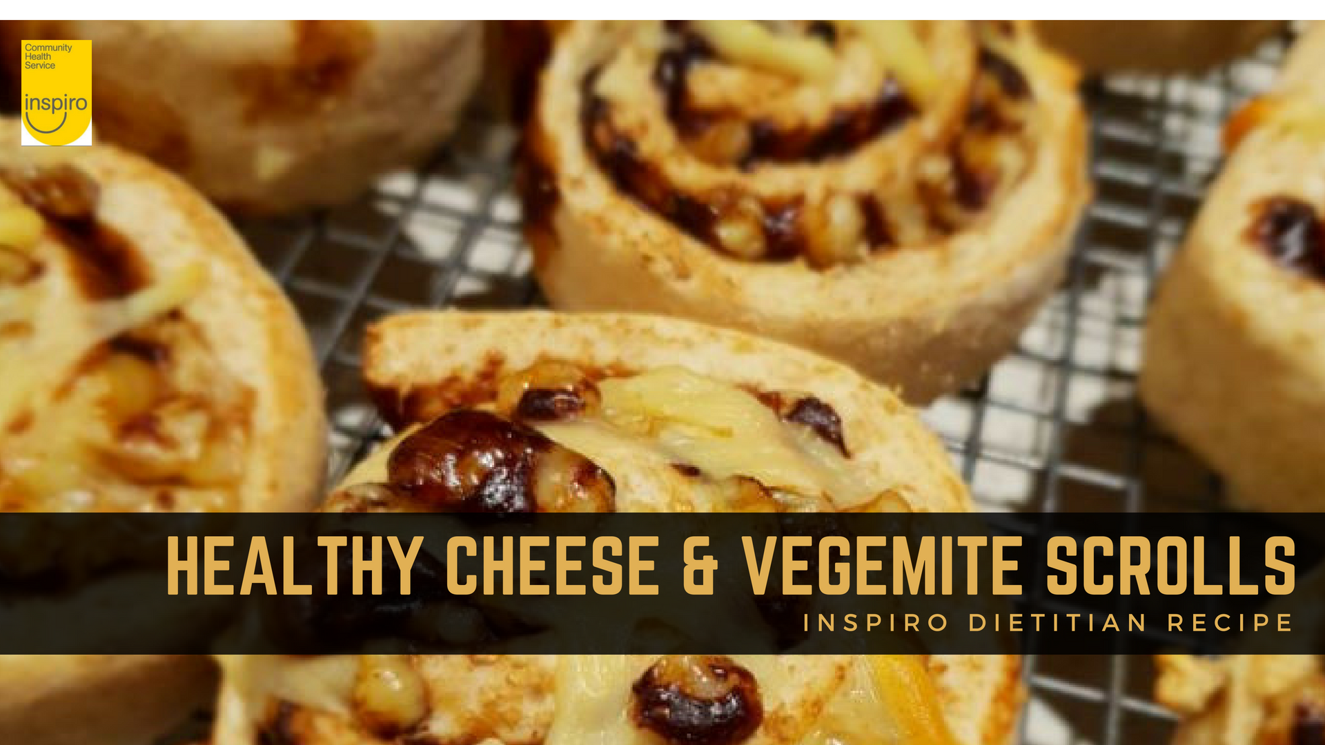 Homemade wholemeal cheesy Vegemite scrolls