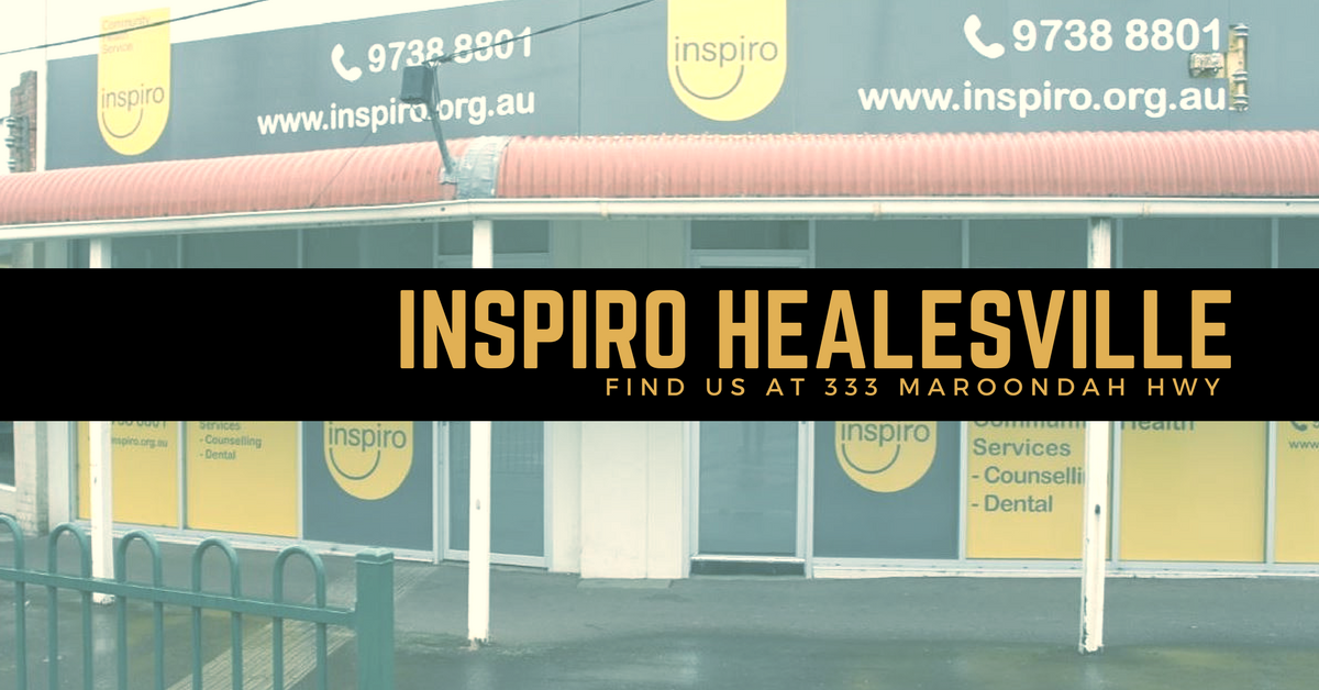 Inspiro Healesville open for counselling
